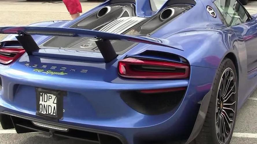 Horacio Pagani's Porsche 918 Spyder returns in walkaround video