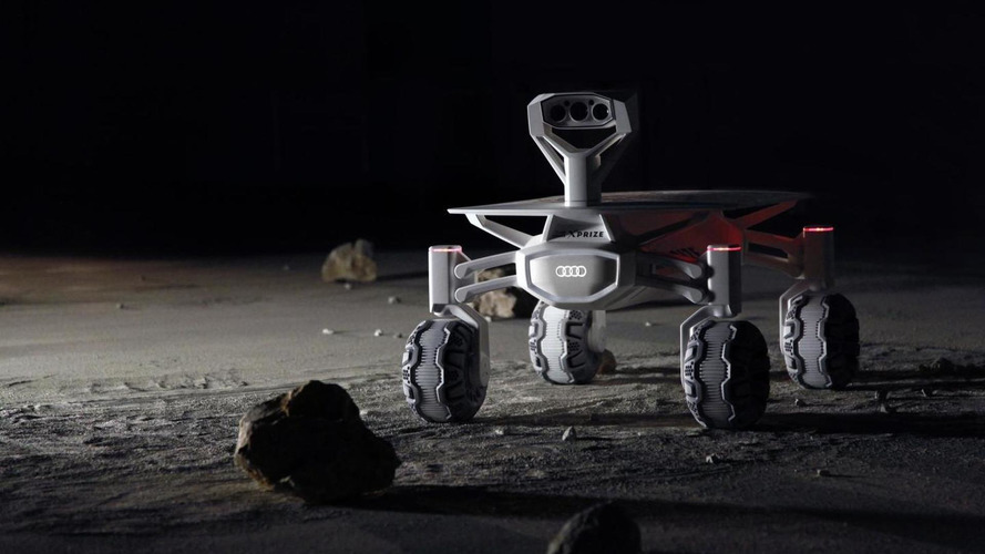 Audi lunar quattro unveiled, will attempt to land on the moon in 2017