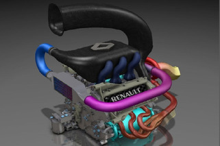 Engine Porn: Renault Reveals F1 Engine for 2014