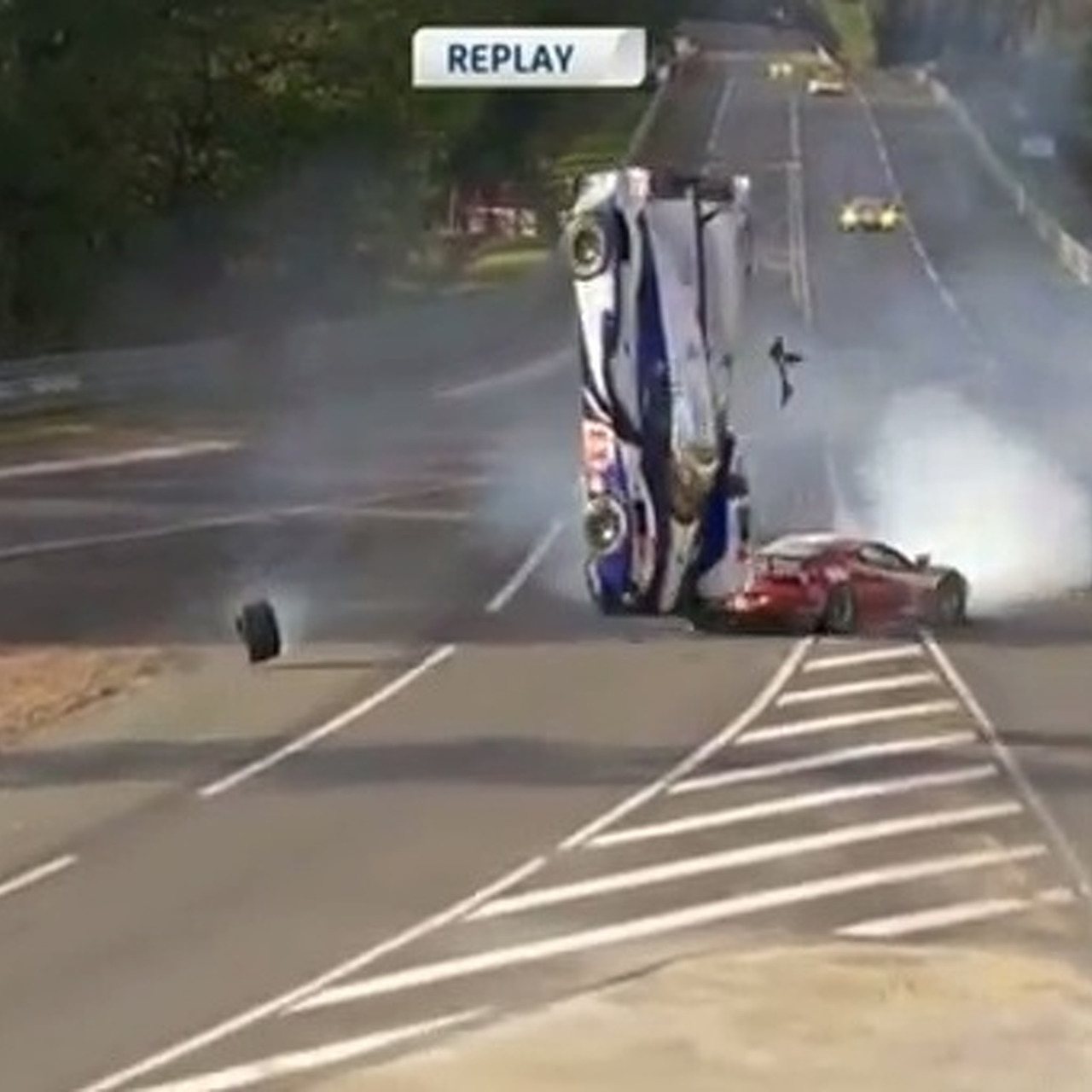 Video: Toyota Suffers Huge Crash and More Bad Luck at Le Mans