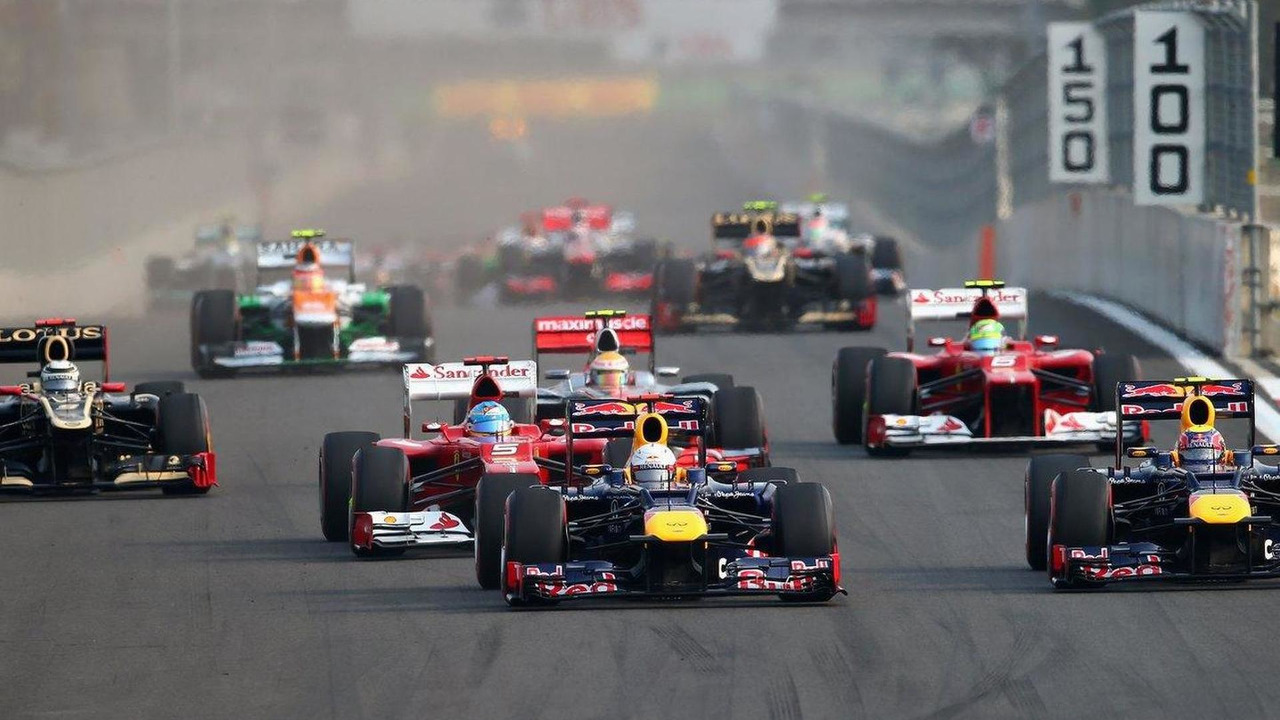 Korean Grand Prix start race, 14.10.2012