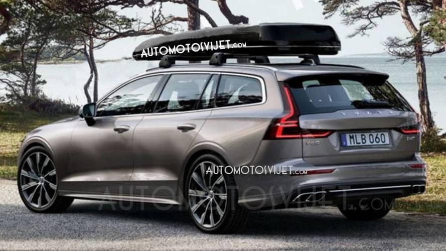 Volvo V60 2019 aparece antes da hora em primeiras fotos vazadas