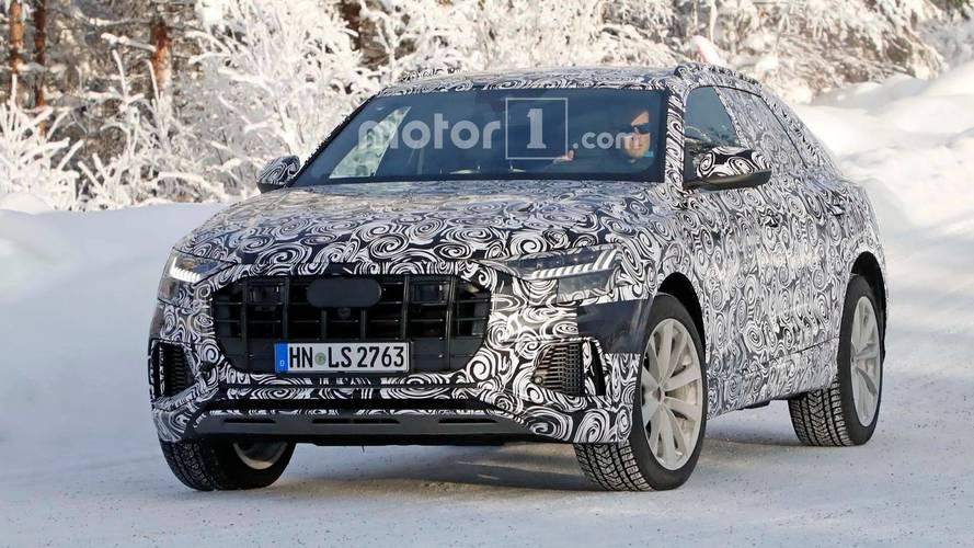 Primeras imágenes del Audi SQ8 2018, rodando en la nieve