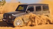 2019 Mercedes G-Class leaked official image