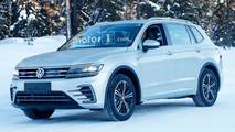 VW Tiguan PHEV Spy Photos