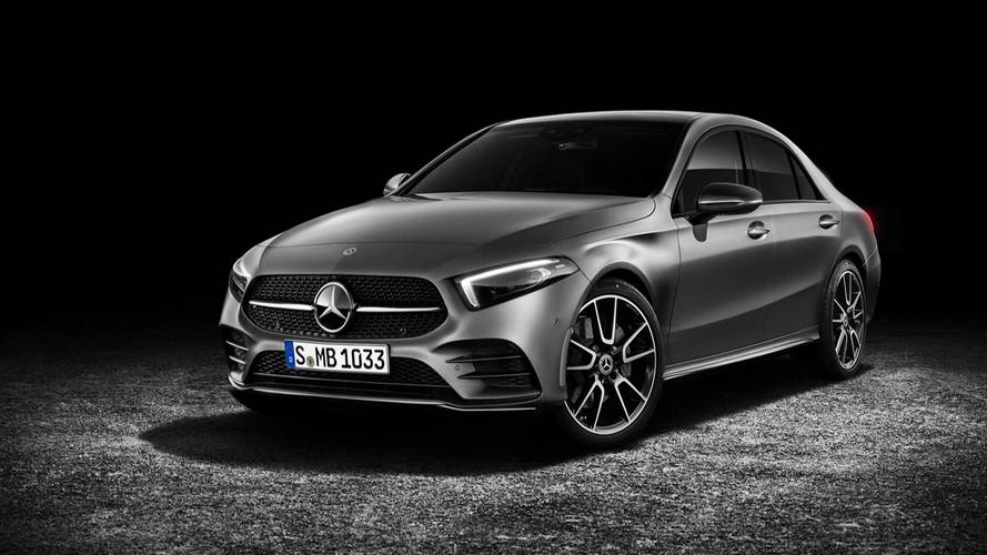 Mercedes A-Class Sedan Render Might Be Mistaken For The Real Deal