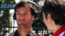 Mark Webber, Porsche Team WEC Driver with Massimo Rivola, Ferrari Sporting Director