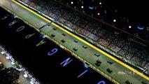Start: Sebastian Vettel, Ferrari SF15-T leads