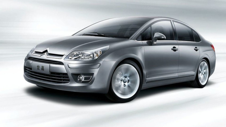 Citroen Reveals C-Quatre Sedan in Shanghai