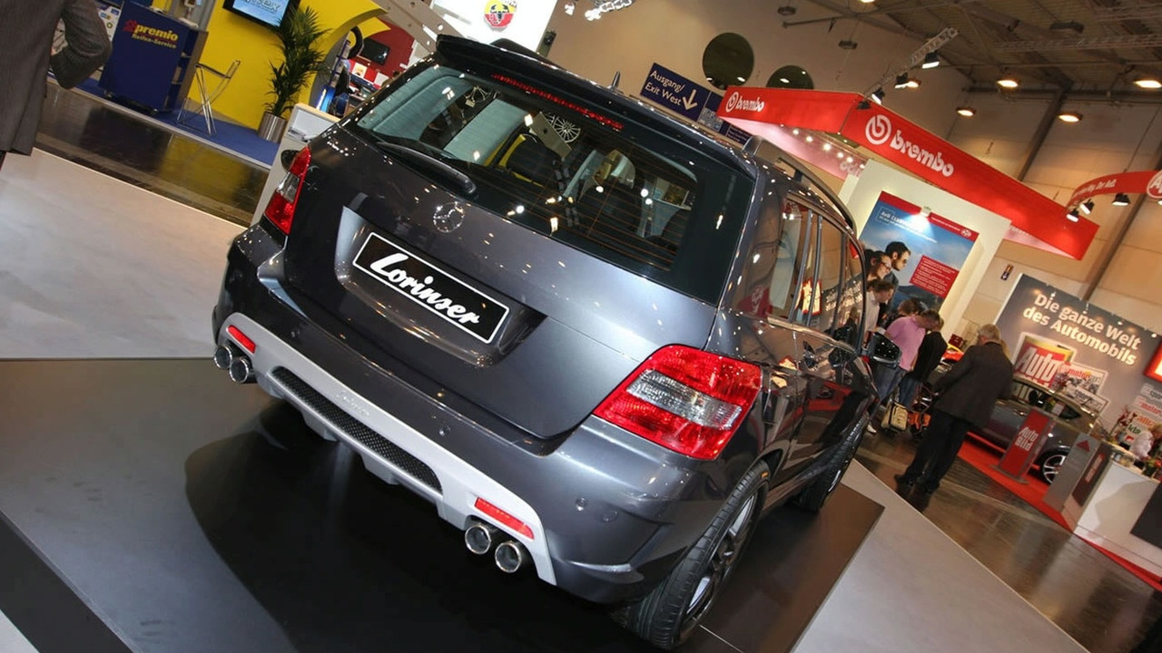 Mercedes GLK Tuned by Lorinser at 2008 Essen Motor Show