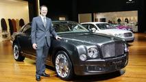 Bentley Mulsanne live in Geneva 02.03.2010