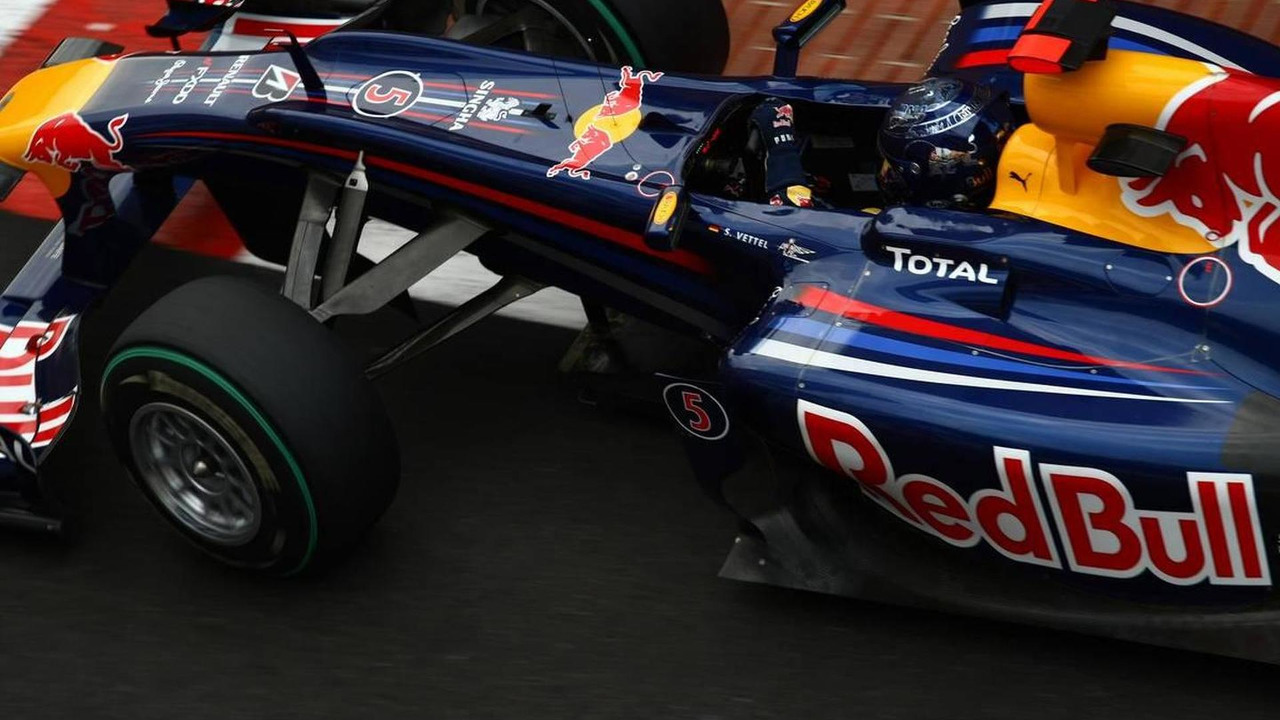 Sebastian Vettel (GER), Red Bull Racing - Formula 1 World Championship, Rd 6, Monaco Grand Prix, Thursday Practice