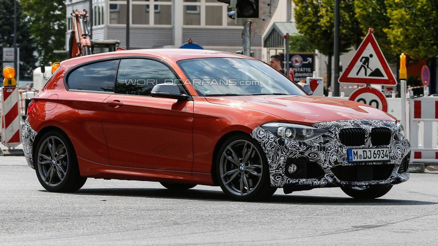2015 BMW 1-Series spied showing modest changes