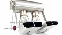 QuickSilver titanium exhaust system for the Bugatti Veyron Grand Sport Vitesse