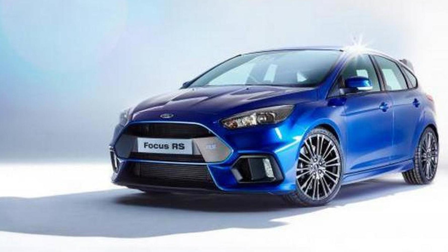Ford Focus RS leaked with all-wheel drive setup
