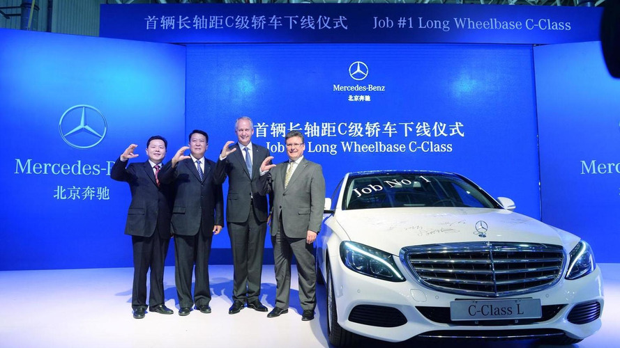 Mercedes C-Class L goes into production in China
