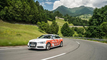 Audi A6 2.0 TDI ultra world record attempt car