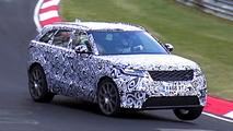 2019 Range Rover Velar SVR screenshot from spy video