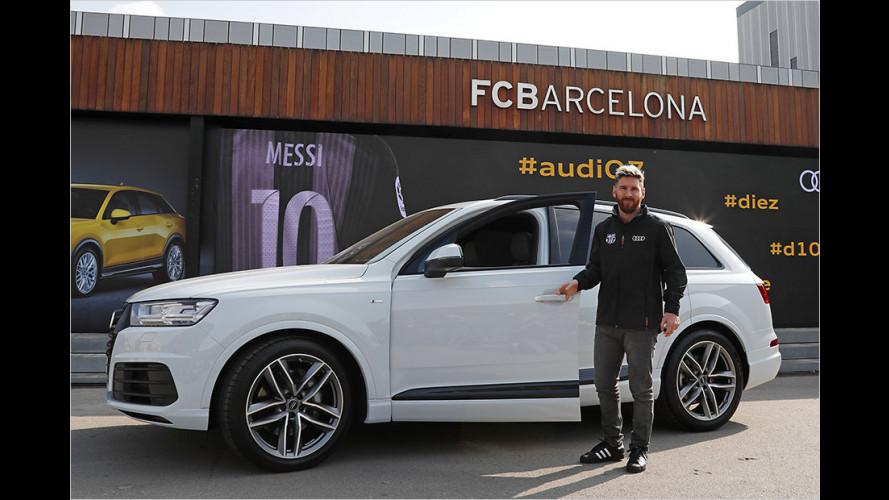 Messi gibt Gas