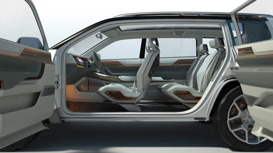 Jeep Şanghay Otomobil Fuarı konsepti