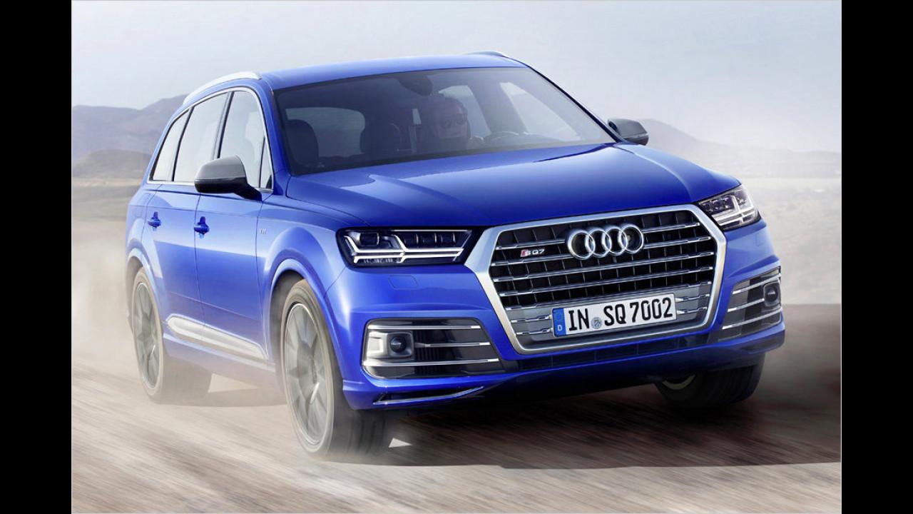 9. Platz: Audi SQ7