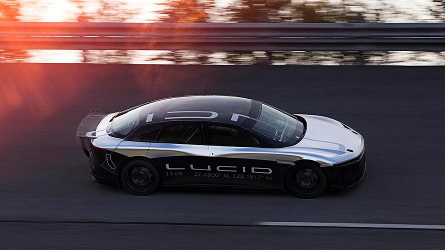 Protótipo do elétrico Lucid Air atinge 378,9 km/h em testes
