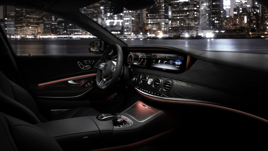 2018 Mercedes S-Class makyaj