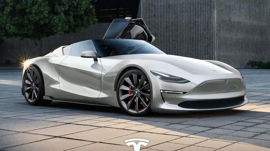 Un designer imagine le futur roadster signé Tesla