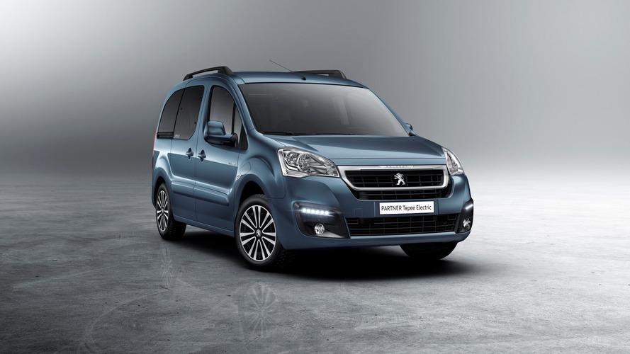 Peugeot dévoile un Partner Tepee 100% électrique