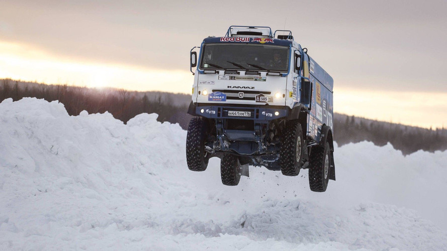 Russian Kamaz Truck Never Looked So Sexy In Epic Slow-Mo Jump