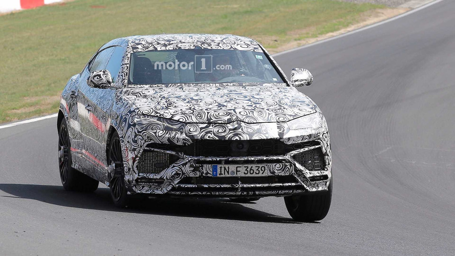 Hear The Lamborghini Urus Rev Its Turbocharged V8 At The 'Ring