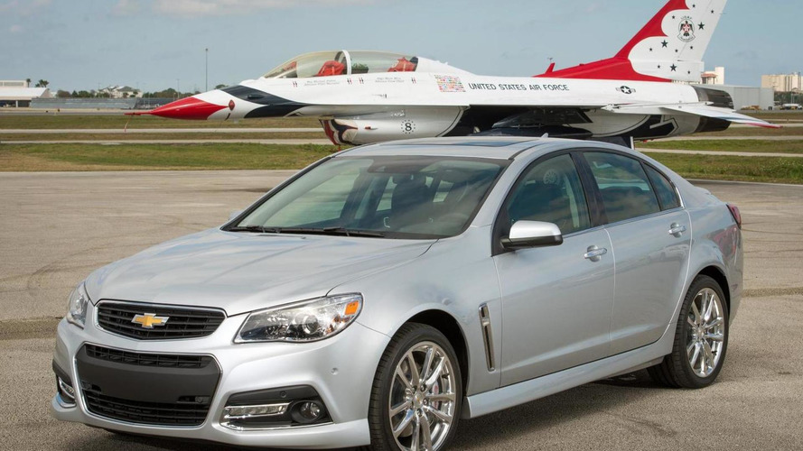 2015 Chevrolet SS gains a six-speed manual transmission