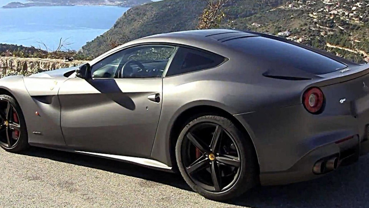 Ferrari F12 Berlinetta on the French coast video screenshot