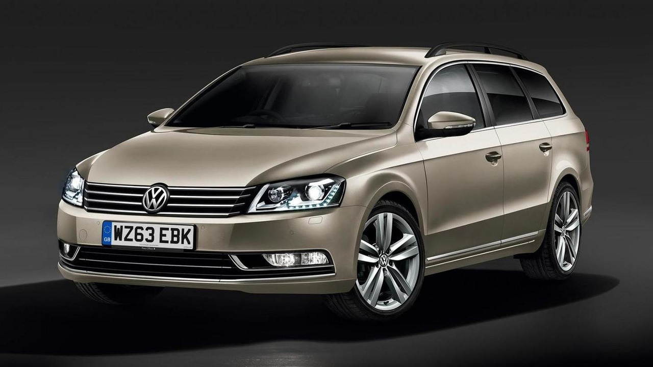 2014 Volkswagen Passat Executive Style (UK-spec)
