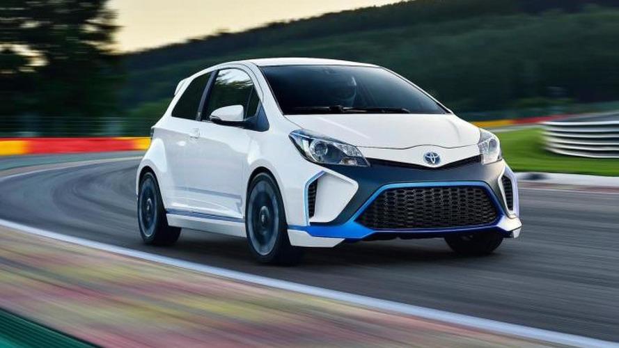 Toyota Yaris Hybrid-R concept fully revealed