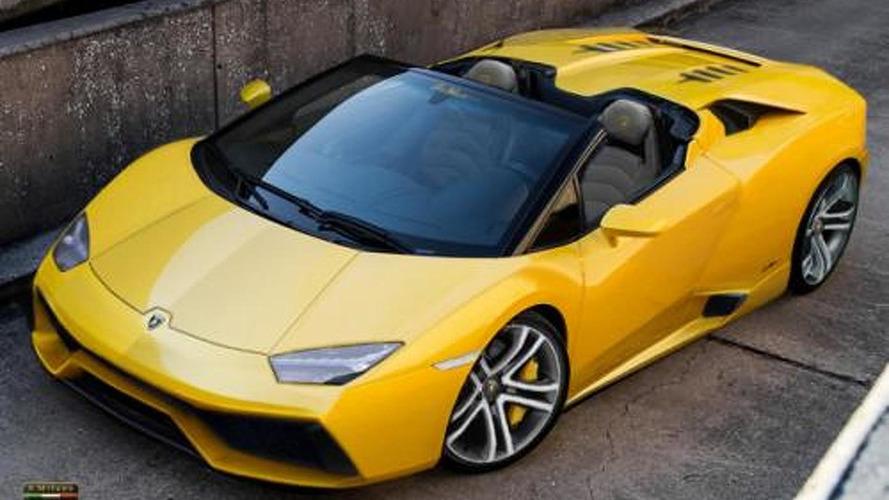 Lamborghini Cabrera Spyder imagined
