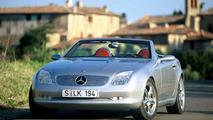 Mercedes-Benz first SLK concept car