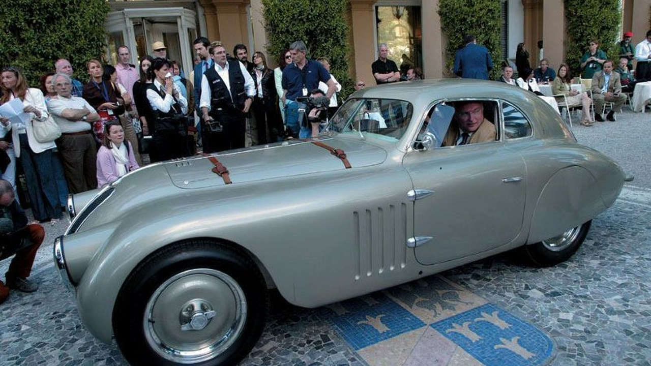 BMW 328 Mille Miglia Coupé Touring 1938