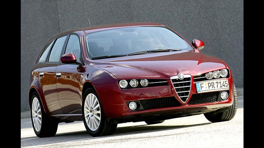 Alfa Romeo 159: Zwei neue Getriebevarianten