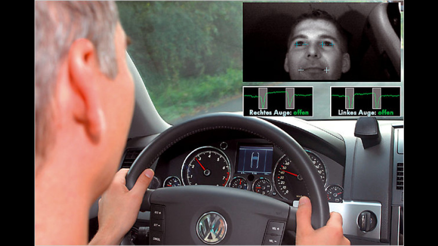 Neues Assistenzsystem von VW verhindert Sekundenschlaf