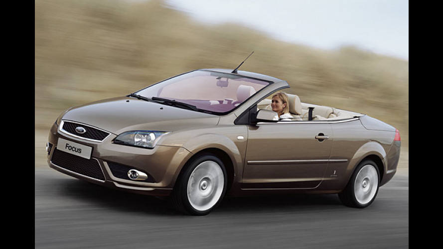 Ford Focus Coupé-Cabrio: So schön wird der Offen-Ford