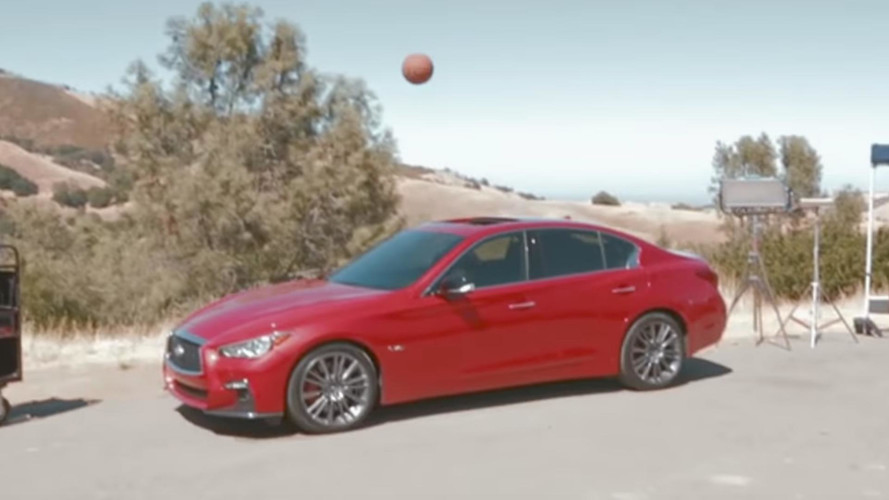 Steph Curry Gets Nothing But Sunroof In Infiniti Commercial Shoot