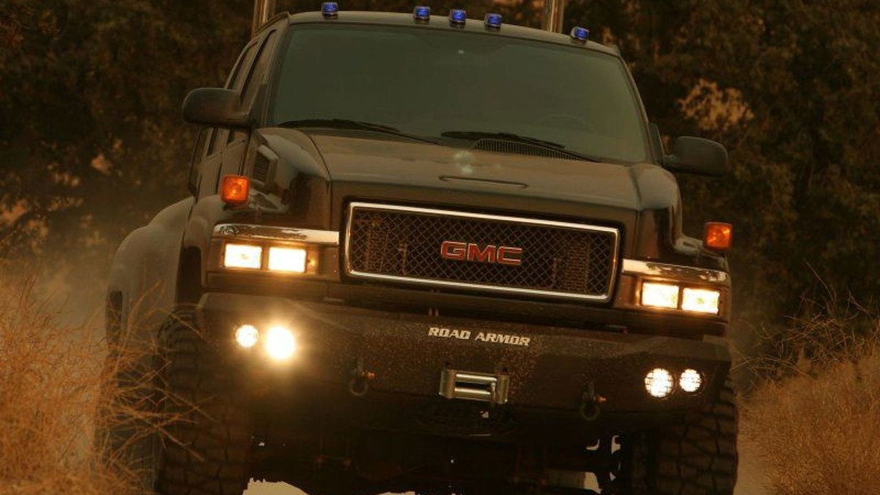 Ironhide, the medium-duty GMC pickup