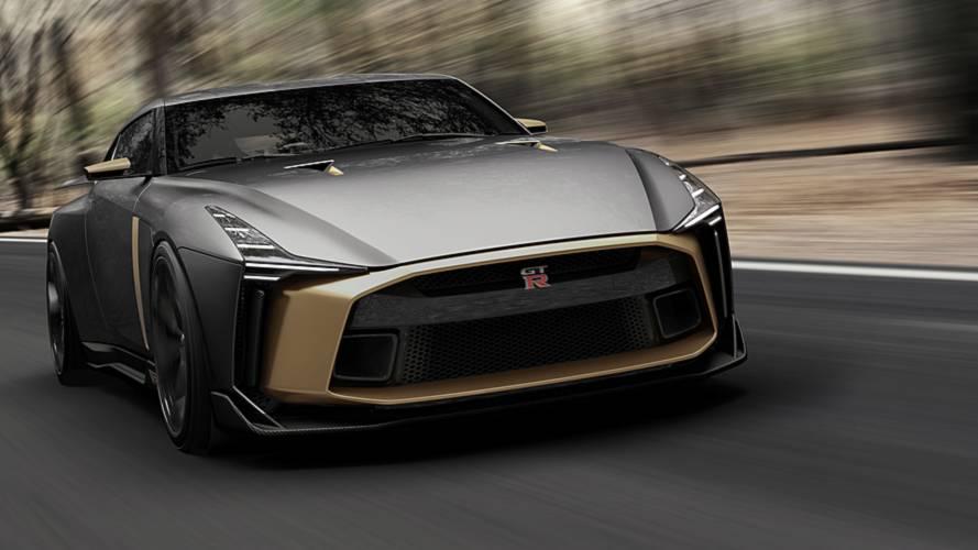 Nissan GT-R 50 by Italdesign: esemplare unico per i 50 anni - Concept