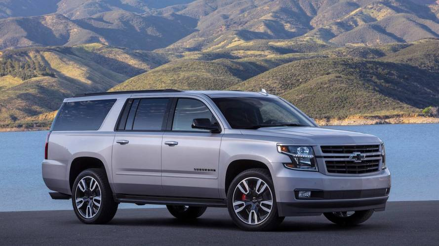 Chevrolet upgrades 2019 Chevrolet Suburban with RST performance package