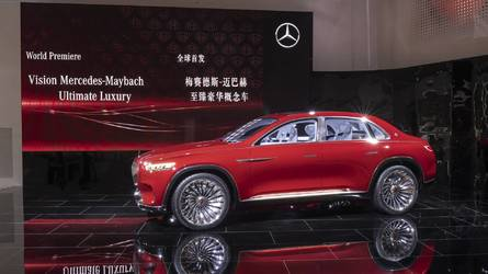 Maybach Vision Ultimate Luxury Concept Live From Beijing