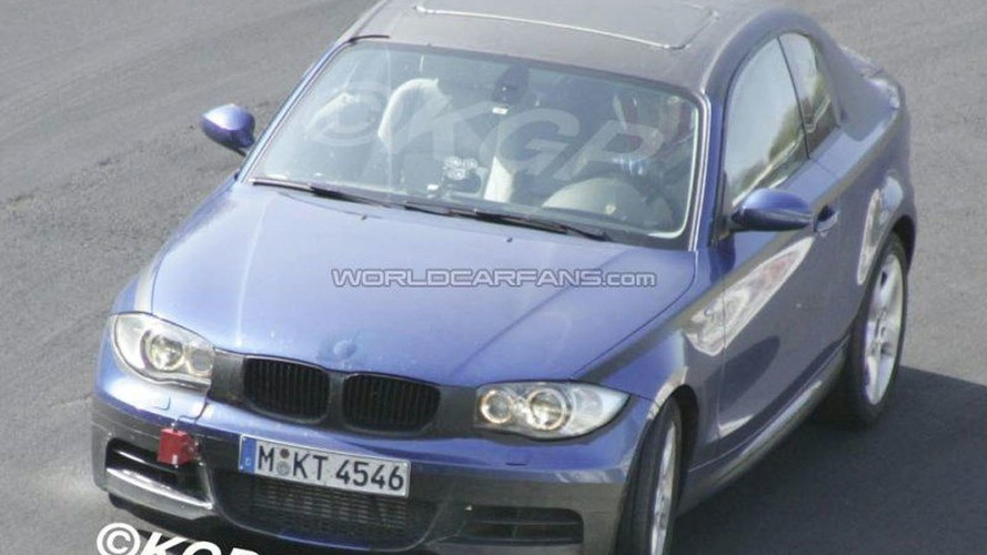SPY PHOTOS: BMW 1 Series Coupe Front Uncovered