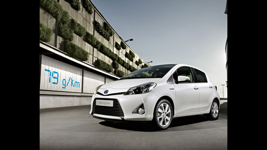 Toyota Yaris Hybrid: debutto a Ginevra