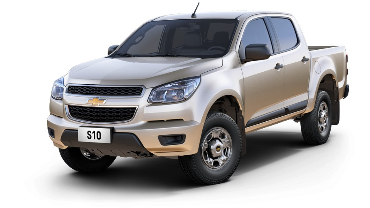 Chevrolet S10 ganha novas versões de entrada equipadas com motor a diesel