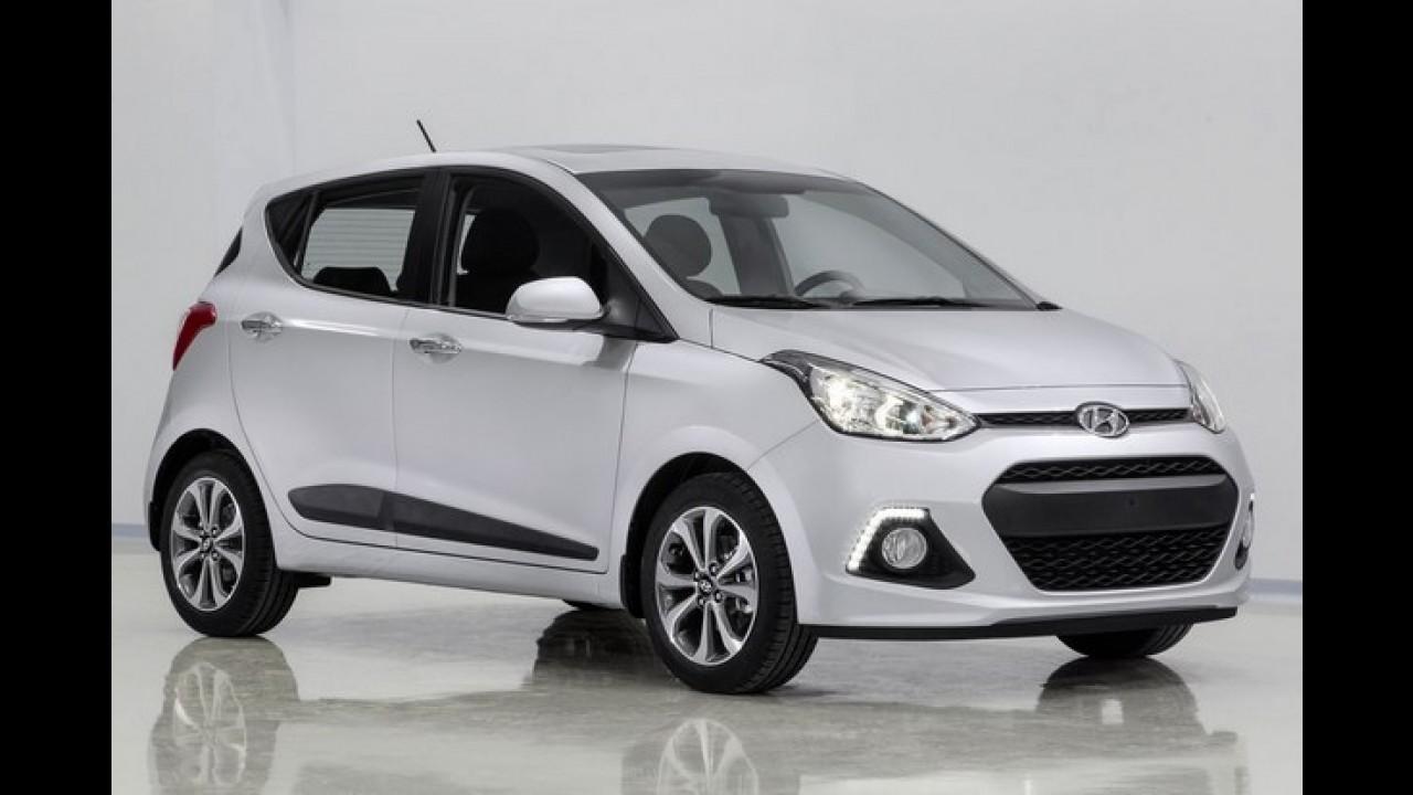 Nova geração do Hyundai i10 começa a ser produzida na Turquia